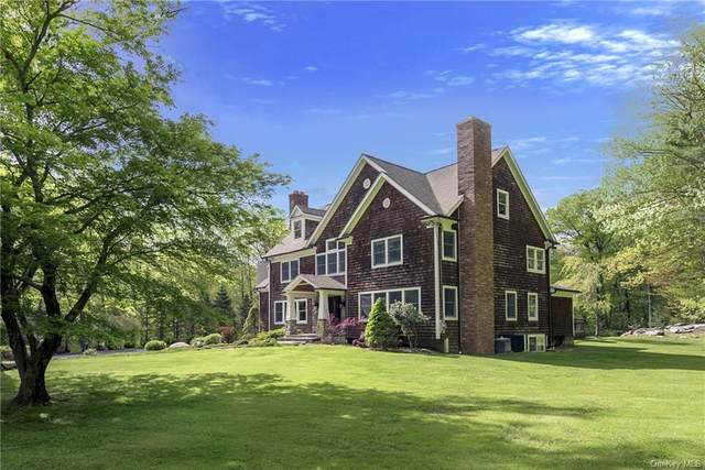 18 Kinnicutt Road East, Pound Ridge, NY 10576 (MLS #H6007949) :: Cronin & Company Real Estate