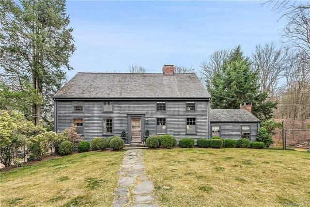 295 Stone Hill Road, Pound Ridge, NY 10576 (MLS #H6036078) :: Mark Seiden Real Estate Team