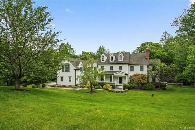 56 Dann Farm Road, Pound Ridge, NY 10576 (MLS #H6041308) :: Mark Boyland Real Estate Team