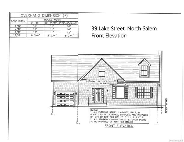 39 Lake Street, North Salem, NY 10560 (MLS #H6057788) :: Mark Boyland Real Estate Team