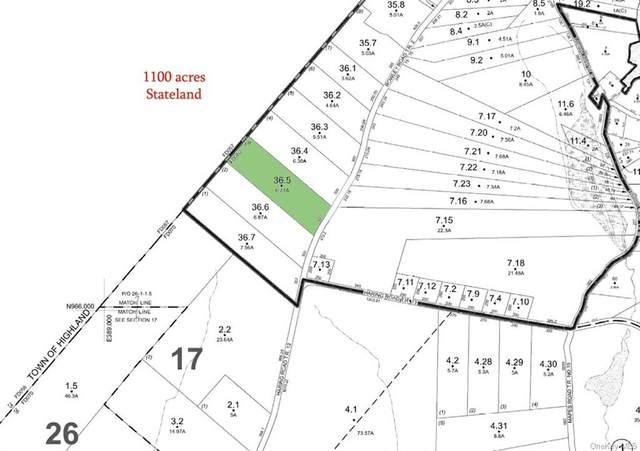Lot 36.5 Rowley Road, Glen Spey, NY 12737 (MLS #H6074347) :: Kendall Group Real Estate | Keller Williams