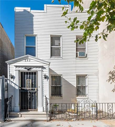 683 Van Nest Avenue, Bronx, NY 10462 (MLS #H6077030) :: Cronin & Company Real Estate