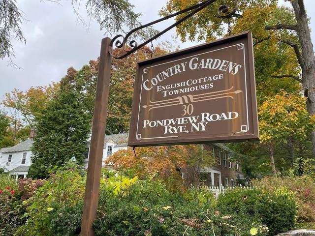 30 Pondview Road H, Rye, NY 10580 (MLS #H6078586) :: Nicole Burke, MBA | Charles Rutenberg Realty
