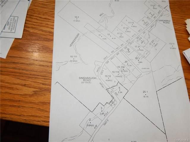 Sinsabaugh Road, Pine Bush, NY 12566 (MLS #H6087192) :: Mark Seiden Real Estate Team