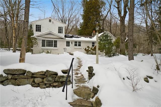 160 Barnegat Road, Pound Ridge, NY 10576 (MLS #H6094857) :: William Raveis Baer & McIntosh