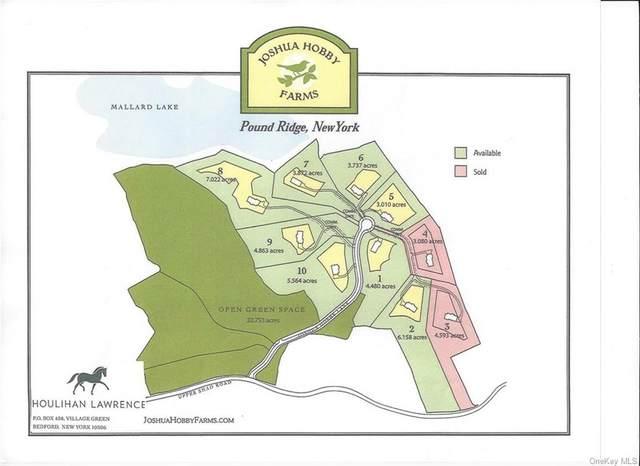 34 Joshua Hobby, Lot 6 Lane, Pound Ridge, NY 10576 (MLS #H6098176) :: Kendall Group Real Estate | Keller Williams