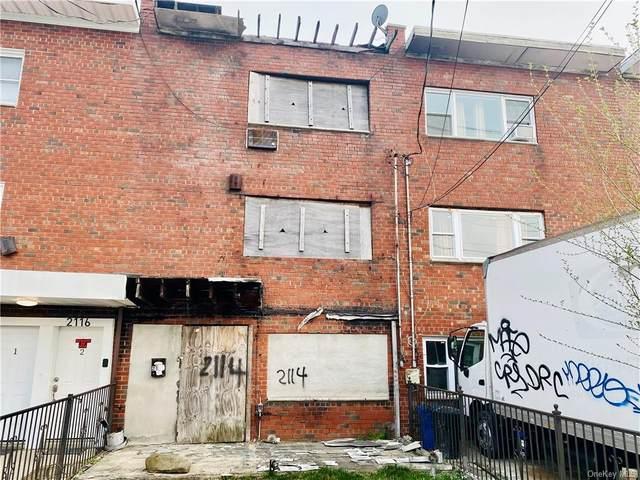 2114 Lacombe Avenue, Bronx, NY 10473 (MLS #H6107806) :: Barbara Carter Team
