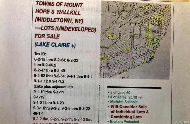 Lake Claire Drive, Middletown, NY 10940 (MLS #H6124654) :: Keller Williams Points North - Team Galligan