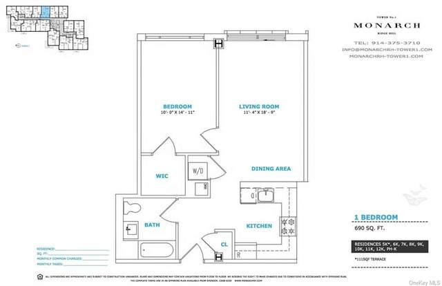 701 Ridge Hill Boulevard 12K, Yonkers, NY 10710 (MLS #H6128126) :: Carollo Real Estate