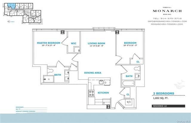 701 Ridge Hill Boulevard 12I, Yonkers, NY 10710 (MLS #H6128136) :: Carollo Real Estate