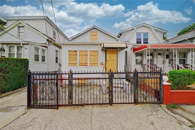 227 Newman Avenue, Bronx, NY 10473 (MLS #H6134202) :: Goldstar Premier Properties