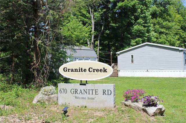 670 Granite Road, Kerhonkson, NY 12446 (MLS #H6134215) :: Howard Hanna Rand Realty