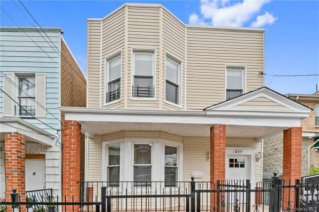 639 Baker Avenue, Bronx, NY 10460 (MLS #H6141869) :: McAteer & Will Estates | Keller Williams Real Estate