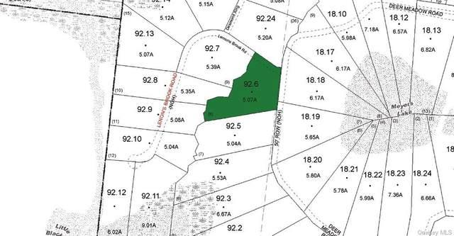 (40.-1-92.6) Lemons Brook Road, Bethel, NY 12720 (MLS #H6143088) :: Cronin & Company Real Estate