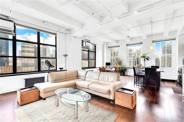 448 W 37th Street 11C, New York, NY 10018 (MLS #H6146054) :: Goldstar Premier Properties