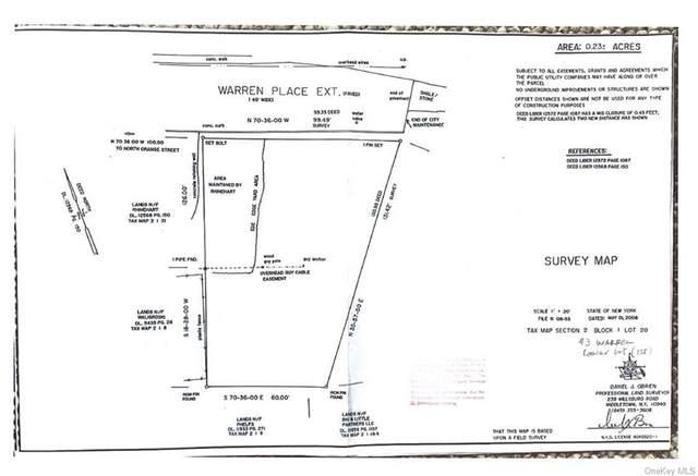 3 Warren Place, Port Jervis, NY 12771 (MLS #H6146876) :: Corcoran Baer & McIntosh
