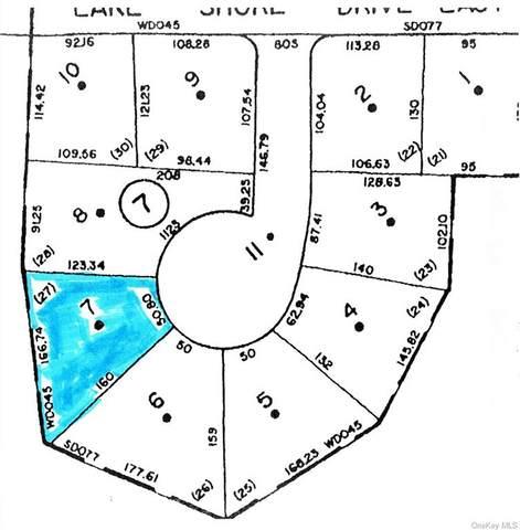 (7-7) E Lake Shore Drive E, Rock Hill, NY 12775 (MLS #H6148274) :: Cronin & Company Real Estate