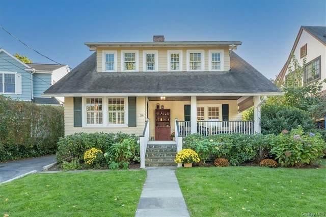 36 Lansdowne Drive, Larchmont, NY 10538 (MLS #H6149531) :: Cronin & Company Real Estate