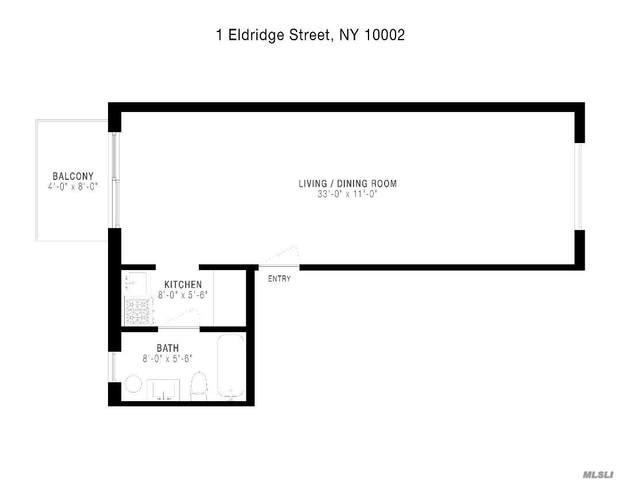 1 Eldridge Street 4A, New York, NY 10002 (MLS #3239365) :: Kevin Kalyan Realty, Inc.