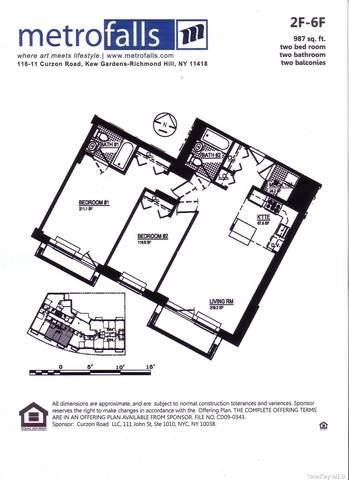 116-11 Curzon Road 2F, Kew Gardens, NY 11418 (MLS #3304925) :: Carollo Real Estate