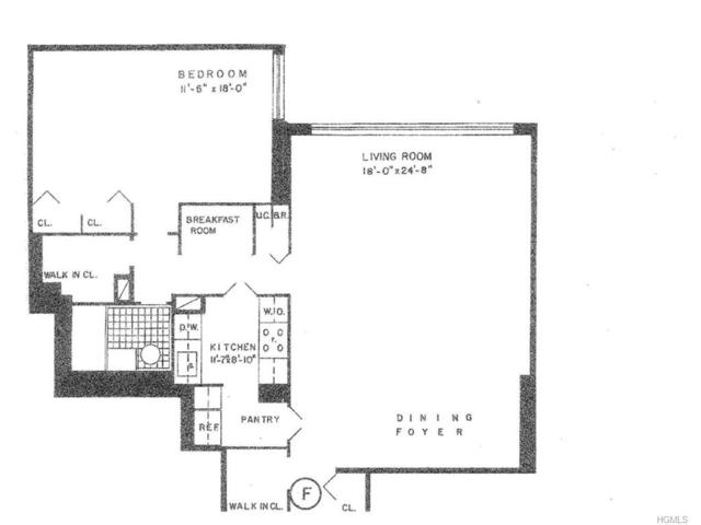 2500 Johnson Avenue 8F, Bronx, NY 10463 (MLS #4739055) :: Mark Boyland Real Estate Team