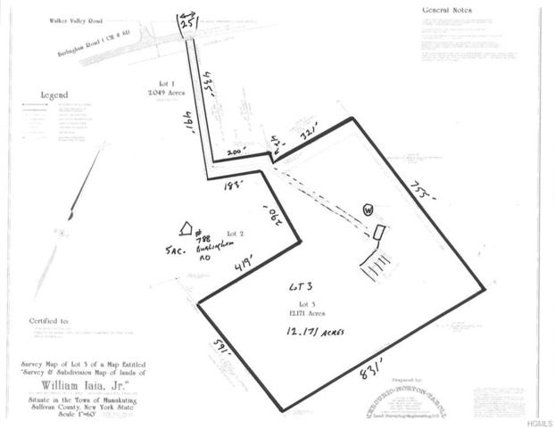 tbd Burlingham Road, Pine Bush, NY 12566 (MLS #4833496) :: Mark Seiden Real Estate Team
