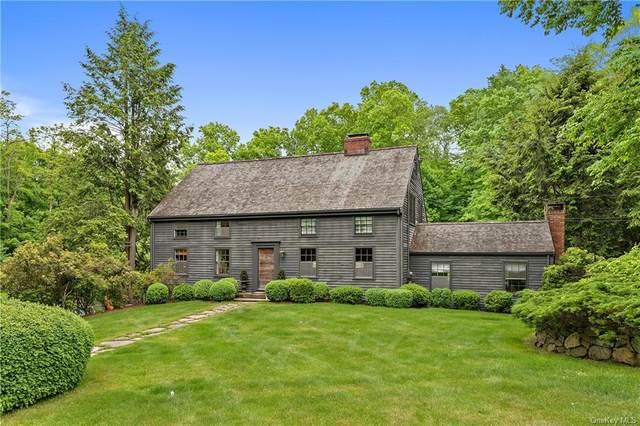 295 Stone Hill Road, Pound Ridge, NY 10576 (MLS #H6036078) :: Mark Boyland Real Estate Team