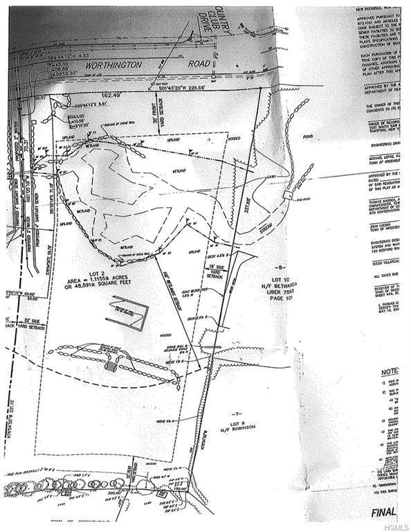 162 Worthington Lot 2 Road, White Plains, NY 10607 (MLS #4808787) :: Mark Boyland Real Estate Team