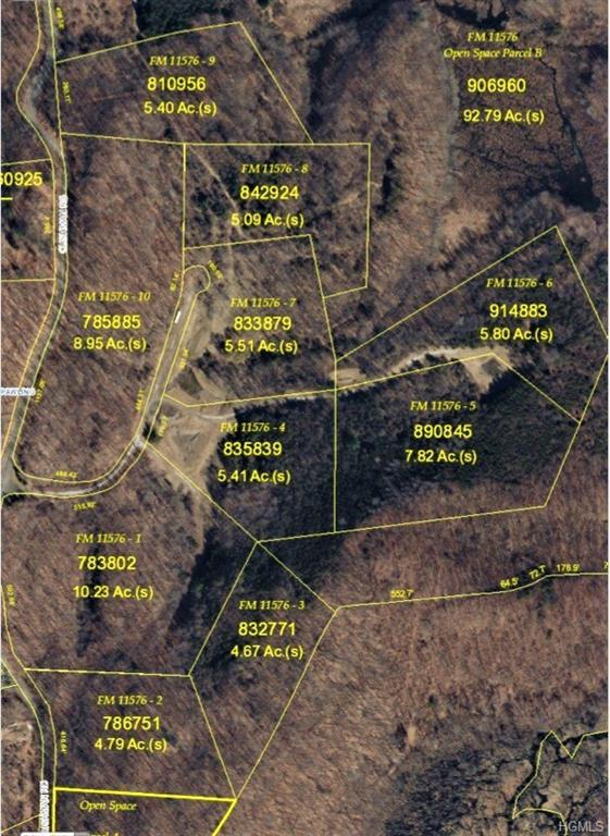 LOTS 1-10 East Meadow Drive, Pawling, NY 12564 (MLS #4809183) :: Michael Edmond Team at Keller Williams NY Realty