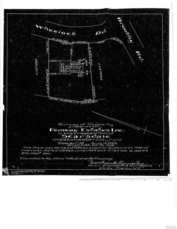 3 Wheelock Road, Scarsdale, NY 10583 (MLS #4823254) :: William Raveis Baer & McIntosh