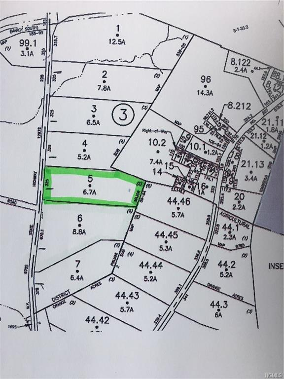 Lot 5 State Route 208, Campbell Hall, NY 10916 (MLS #4842459) :: Stevens Realty Group