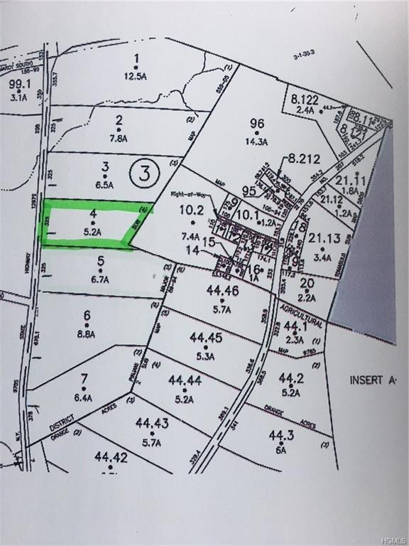 Lot 4 State Route 208, Campbell Hall, NY 10916 (MLS #4842460) :: William Raveis Baer & McIntosh