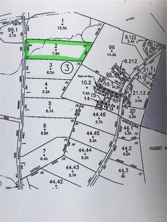 Lot 2 State Route 208, Campbell Hall, NY 10916 (MLS #4842463) :: William Raveis Baer & McIntosh