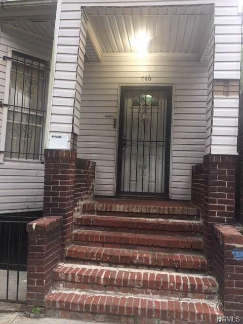 746 E 179th Street, Bronx, NY 10457 (MLS #5063396) :: Shares of New York