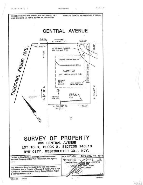 99 Central Avenue, Rye, NY 10580 (MLS #5119878) :: Mark Boyland Real Estate Team
