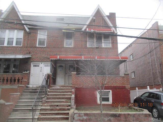 634 Rosedale Avenue, Bronx, NY 10473 (MLS #6005757) :: William Raveis Legends Realty Group