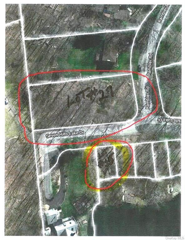 Lot 27 Rambler & Lot 25 Seven Hills Rd Road, Kent, NY 10512 (MLS #H6039568) :: Kendall Group Real Estate | Keller Williams
