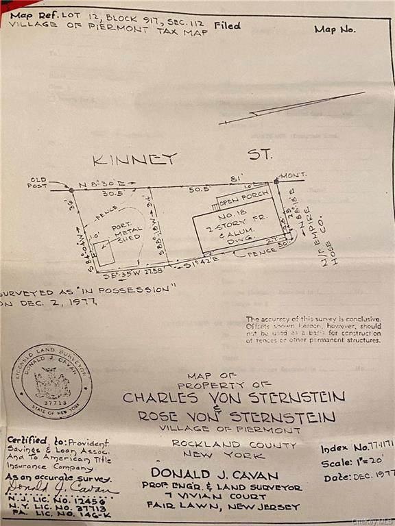 18 Kinney Street, Orangetown, NY 10968 (MLS #H6048033) :: RE/MAX RoNIN