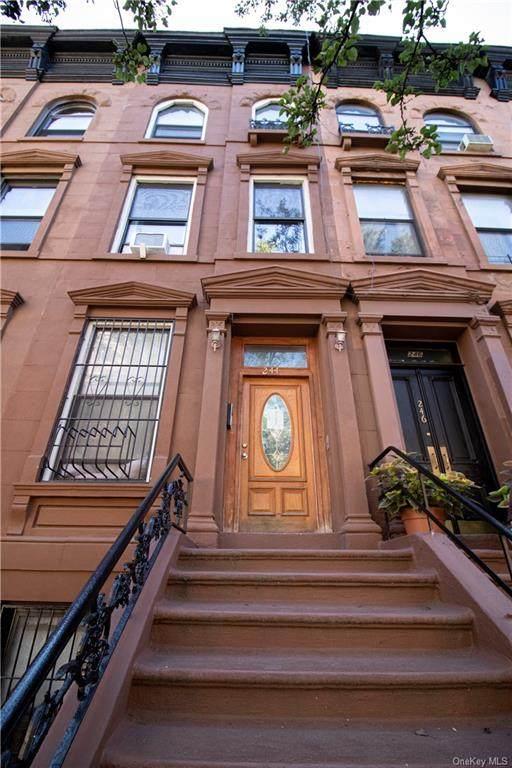 244 W 123rd Street, Newyork, NY 10027 (MLS #H6059129) :: Nicole Burke, MBA | Charles Rutenberg Realty
