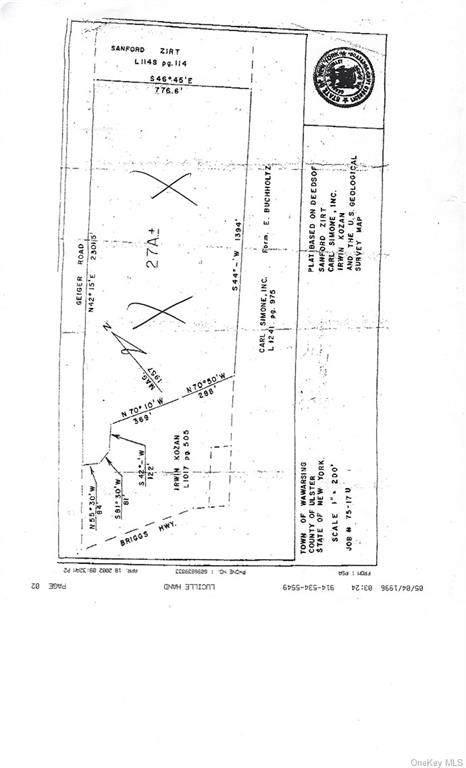 Geiger Road, Ellenville, NY 12428 (MLS #H6079091) :: Nicole Burke, MBA | Charles Rutenberg Realty