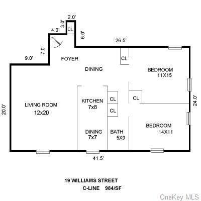 19 William Street 2-C, Mount Vernon, NY 10552 (MLS #H6098659) :: McAteer & Will Estates | Keller Williams Real Estate