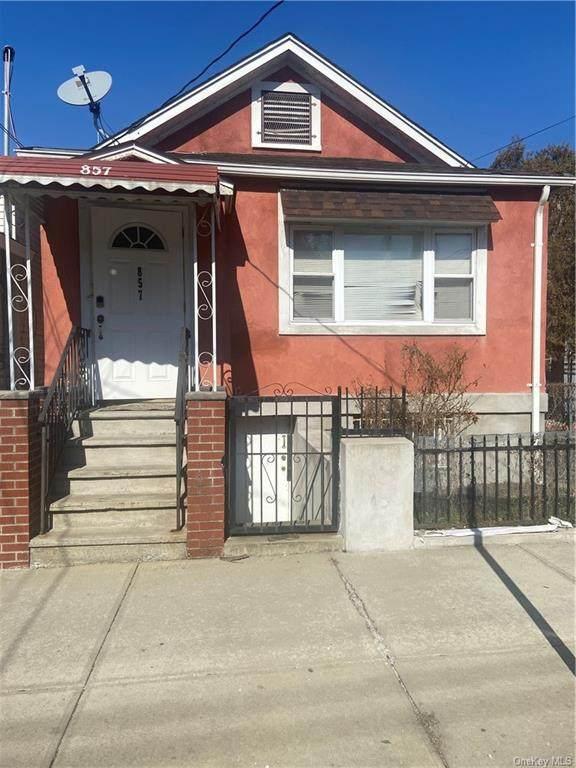 857 E 218th Street, Bronx, NY 10467 (MLS #H6099971) :: McAteer & Will Estates | Keller Williams Real Estate