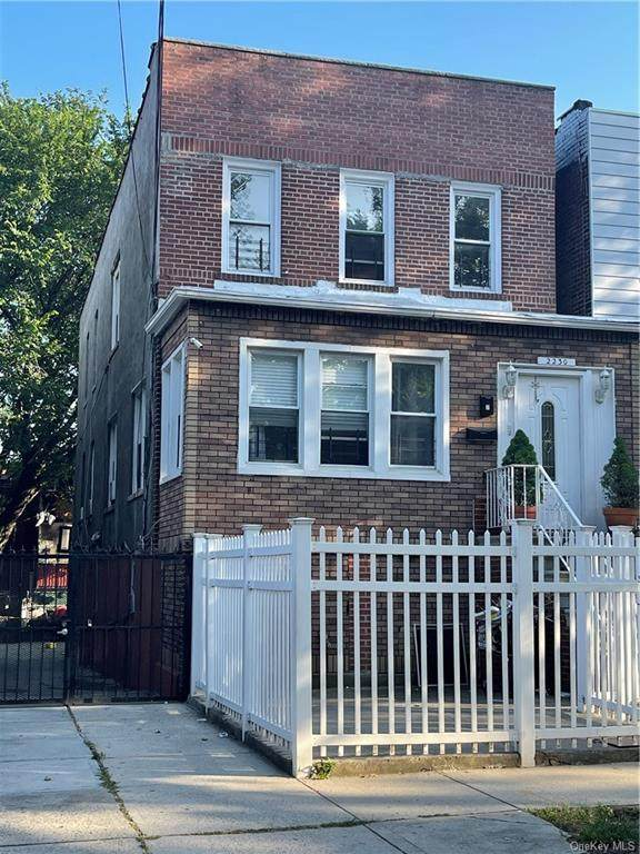 2230 Chatterton Avenue, Bronx, NY 10472 (MLS #H6125694) :: McAteer & Will Estates | Keller Williams Real Estate