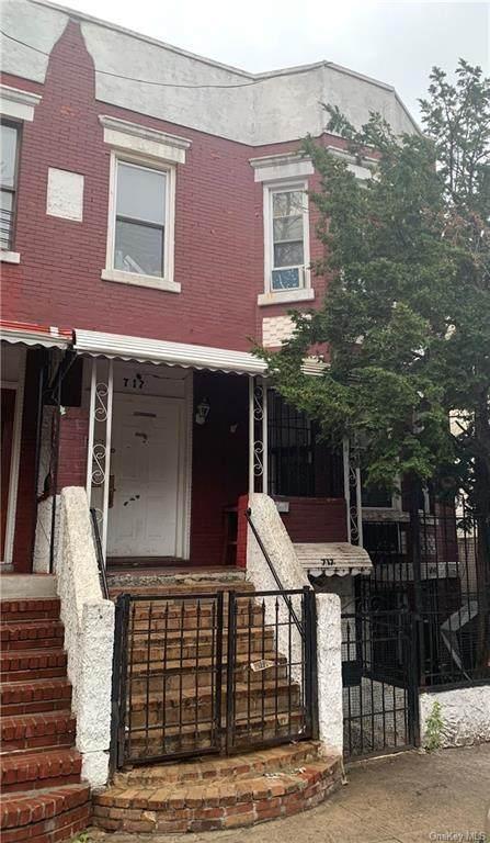 717 E 181 Street, Bronx, NY 10457 (MLS #H6133276) :: RE/MAX Edge