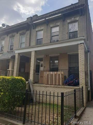 166 Herzl Street, Brooklyn, NY 11212 (MLS #H6147848) :: Cronin & Company Real Estate