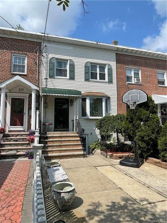 235 Brinsmade Avenue, Bronx, NY 10465 (MLS #H6150243) :: Signature Premier Properties