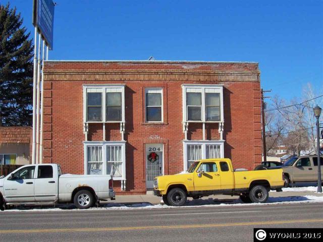 204 N 6th, Thermopolis, WY 82443 (MLS #20151041) :: Lisa Burridge & Associates Real Estate
