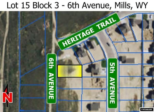 L15 Blk 3 6th Avenue, Mills, WY 82644 (MLS #20173641) :: Lisa Burridge & Associates Real Estate