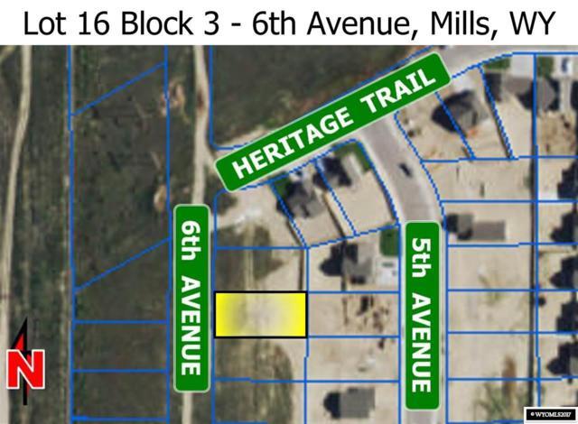 L16 Blk 3 6th Avenue, Mills, WY 82644 (MLS #20173643) :: Lisa Burridge & Associates Real Estate