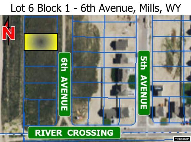 L 6 Blk 1 6th Avenue, Mills, WY 82644 (MLS #20173660) :: Lisa Burridge & Associates Real Estate
